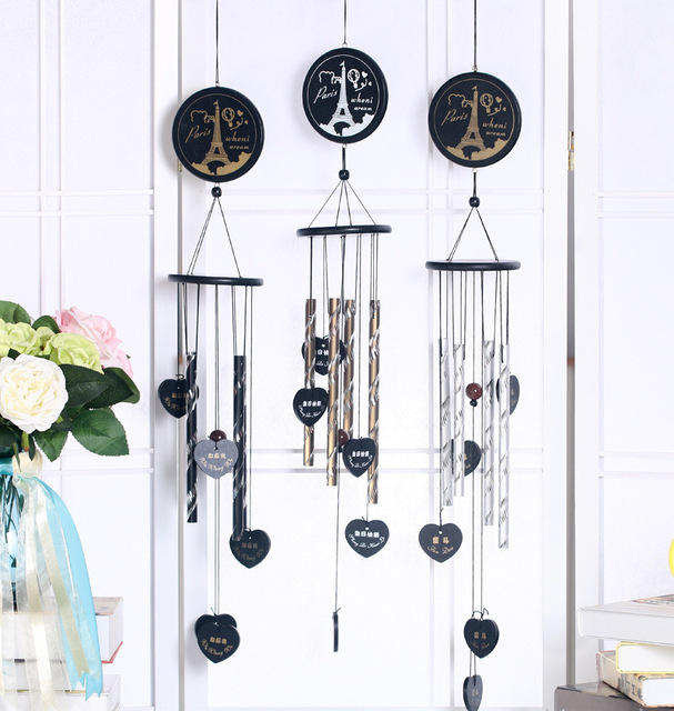 Household Decor Birthday Wish Wind Chimes Birthday Gifts To Friends Car And  Home Windows Decor Pendant