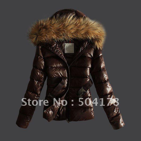 Women's Short Down Coat Fur Collar New Arrival Warm Winter Jacket ...