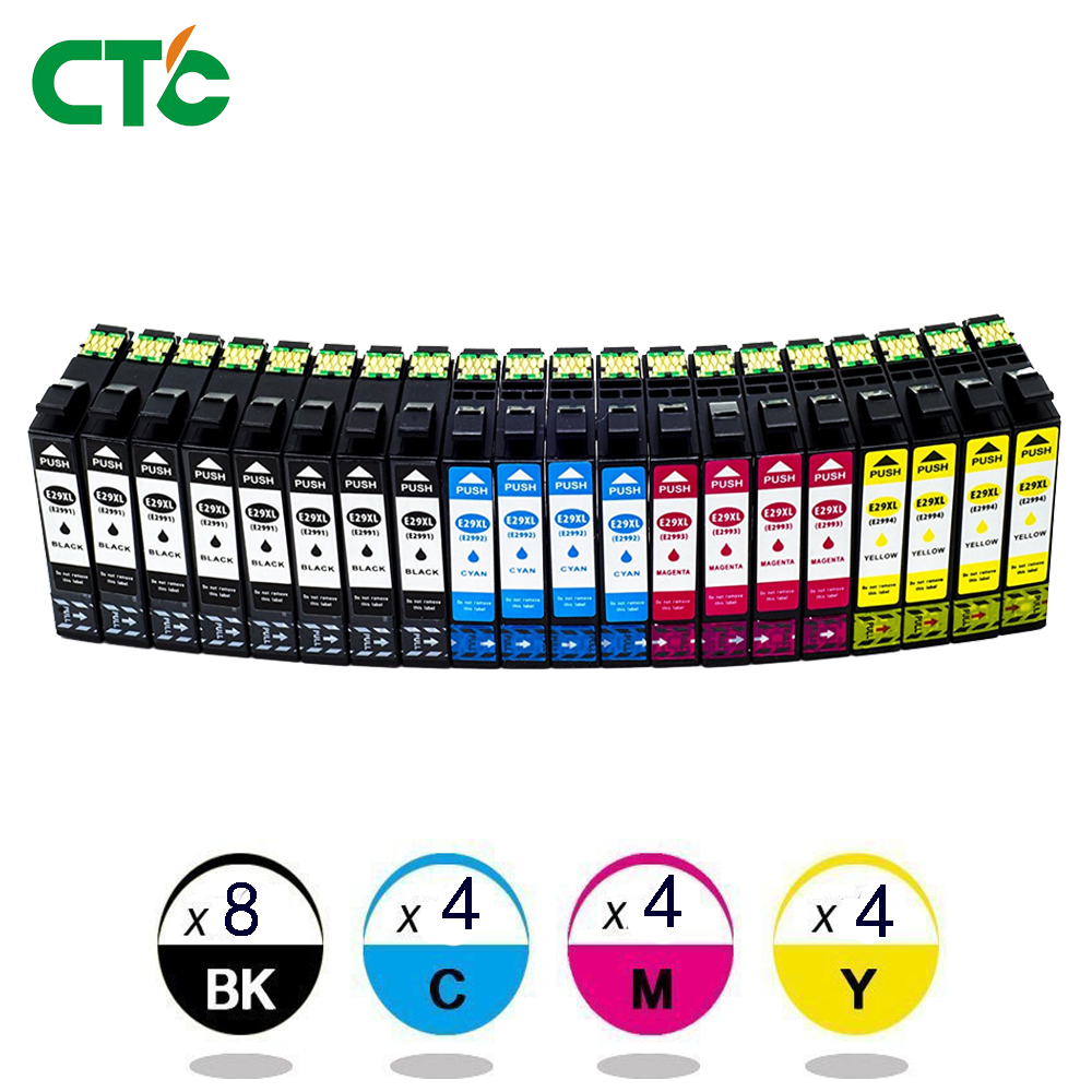 все цены на 20 Inks 29XL compatible For EPSON 2991 XP-342 XP-345 XP-445 XP342 XP345 XP445 XP 342 345 445 Printer Ink Cartridge T29 T2991 онлайн