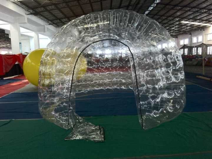 New Arrival Transparent one tiem Inflatable Bubble Dome Tent(double layer) inflatable transparent tent inflatable dome tent