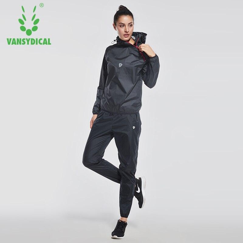 Vansydical Brand Jogging Suits for Women Survetement Windbreaker Training Tracksuits 2 Piece Set
