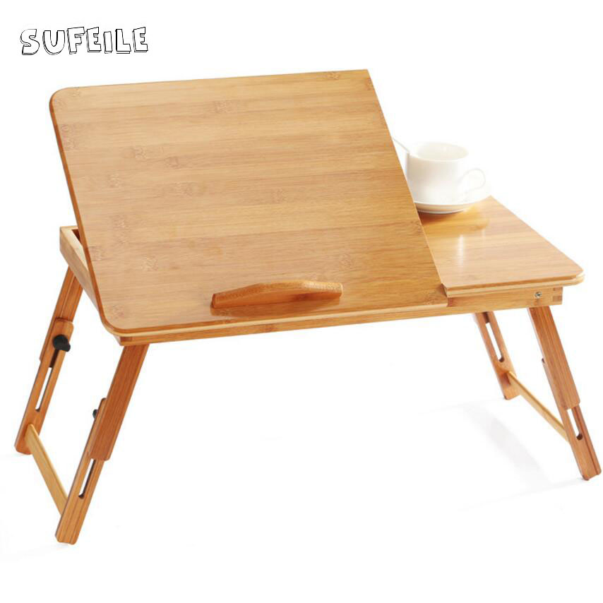 aliexpresscom buy foldable office table desk. sufeile college students learn laptops table natural bamboo laptop desk adjustable height folding computer aliexpresscom buy foldable office