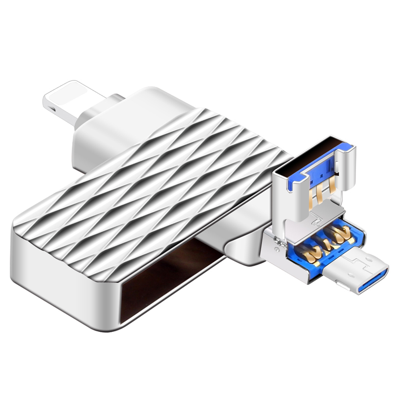 USB Flash Drive Metal High Speed USB 3 0 64GB Pendrive 16GB USB Stick for iPhone