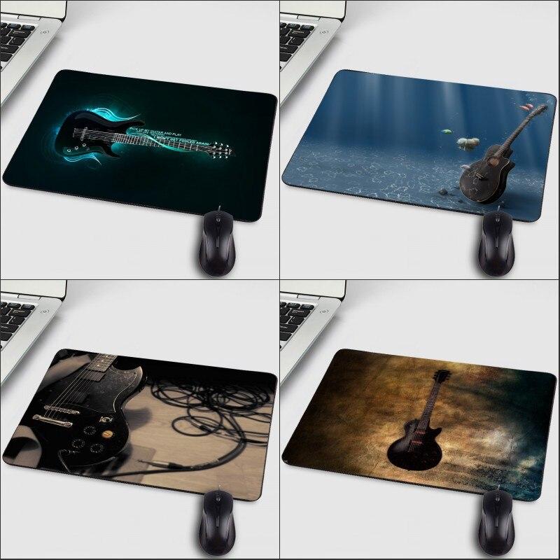 Mairuige Прохладный шаблон для меломана любителей гитары изображения Мышь площадку компьютер мини-Pc Тетрадь Tabllt геймерские Мышь pad коврик