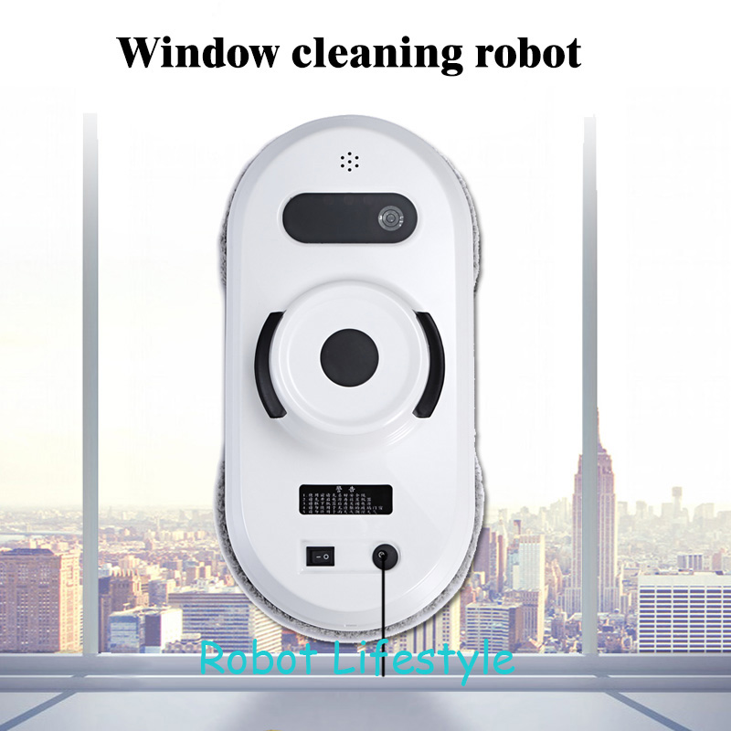 Ship from RU CN Robot Lifestyle Robot Window cleaner Auto clean anti falling smart window