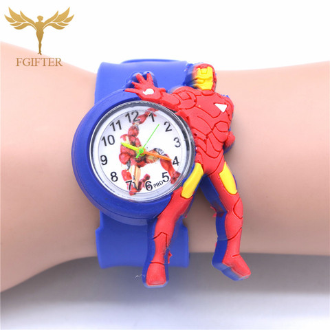 Kid Watches Captain America Cartoon Boys Watches Quartz Superman Avengers Anime Child Clocks Children Boy Gifts Islamabad