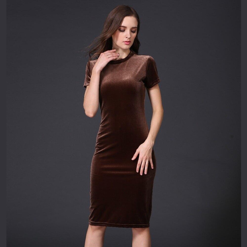 Ladies Brown Dresses