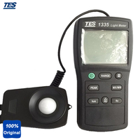 TES-1335 Digital Light Tester Illuminance Meter Measuring Levels Ranging 0 to 400 000 Lux  0 to 40  000 fc.
