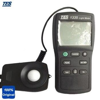 TES-1335 Digital Light Tester Illuminance Meter Measuring Levels Ranging 0 to 400,000 Lux, 0 to 40, 000 fc.