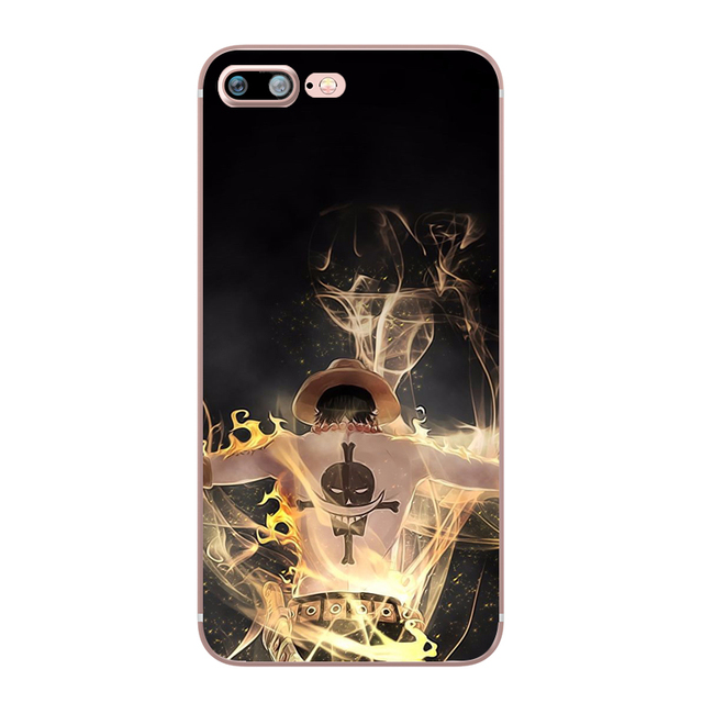 One Piece Anime Luffy Zoro Coque for Apple iphone 7 8 plus 6S X 5 6 5S SE 6 PLUS