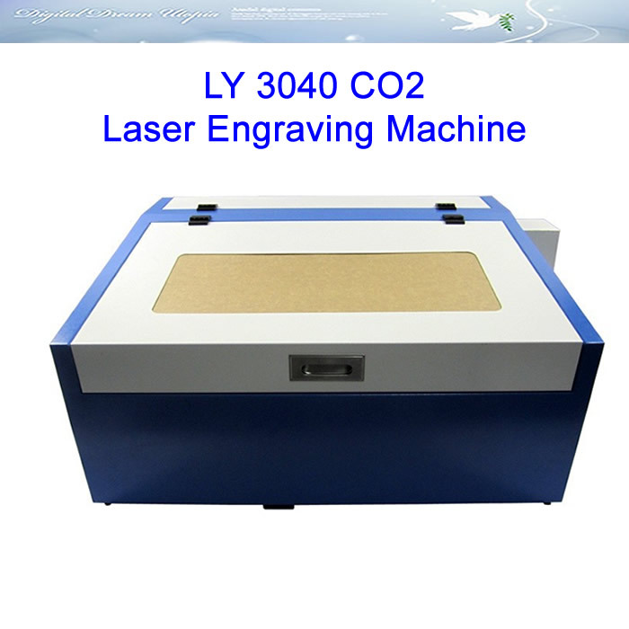 Free shipping! rayjet laser engraver cnc 3040 co2 laser cutting machine 50W with rotary axis 3040 co2 laser engrave machine laser marking machine cut plywood 50w laser free shipping