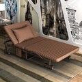 Alta calidad cama plegable cama individual cama doble siesta siesta oficina 1.2 metros una simple cama plegable portátil
