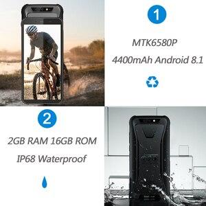 """Image 2 - Blackview BV5500 IP68 Waterproof Mobile Phone MTK6580P 2GB+16GB 5.5"""" 18:9 Screen 4400mAh Android 8.1 Dual SIM Rugged Smartphone"""
