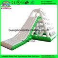 Дешевые плавающей водной горкой/Надувные восхождение слайд Для взрослых надувные слайд для озера