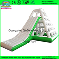 Cheap floating water slide/Inflatable climbing slide For adult inflatable slide for lake