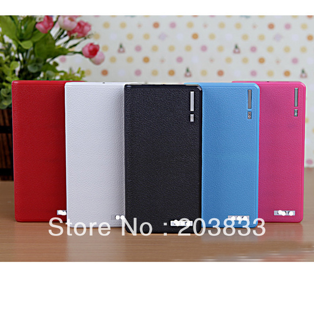 2 Usb Port 20000mAh Power Bank PB051 portable charger External Battery with bottom right corner indicator light
