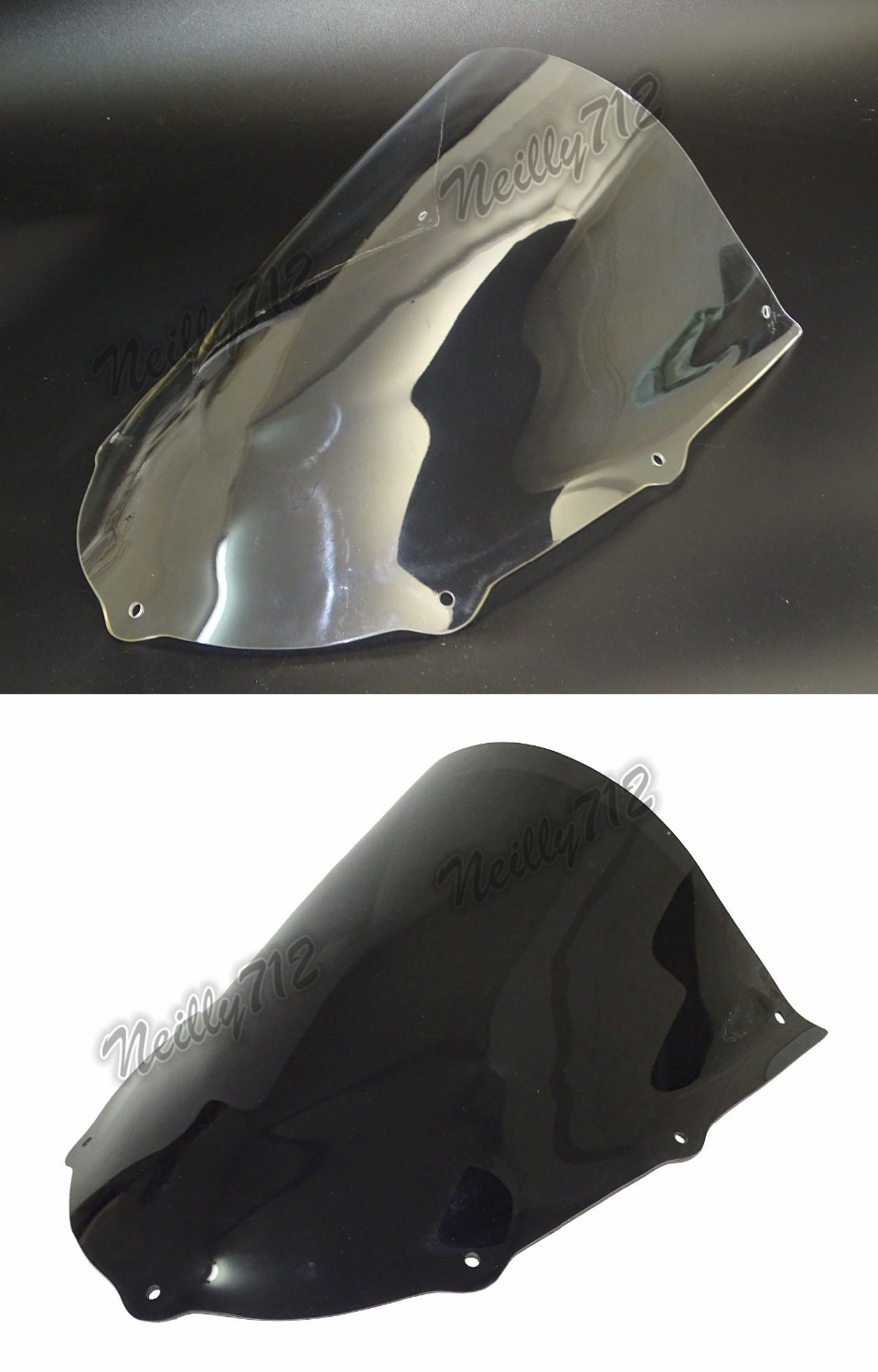 Standard Windscreen Windshield Shield Screen For APRILIA RS50 RS125 RS250 RS 50 125 250 1999 2000
