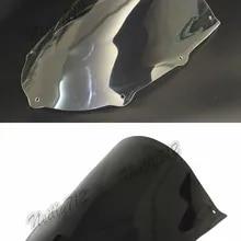 Color : Clear Baffle Moto Pare-Brise Pare-Brise-Vent Fit /écran for Aprilia RS50 RS125 RS250 1995-1997 1996 RS 50 125 250 Pare-Brise