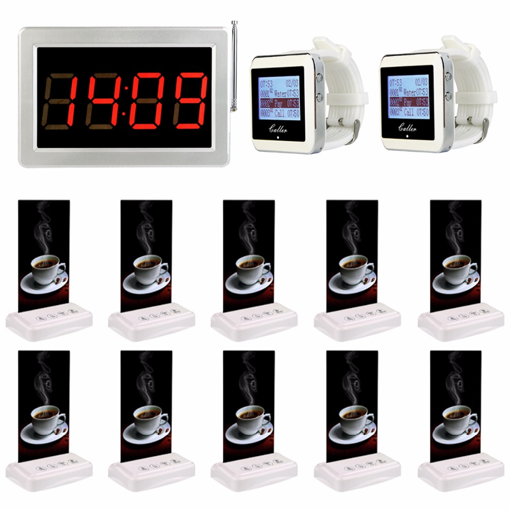 Restaurant Pager Systems Wireless Waiter Paging Calling System Cafe Bar Table Card Call Bell Pagers For Fast Food Court F3355 hotel waiter call pagers wireless guest calling paging system for restaurant cafe ktv bar with one key transmitter button f3288b