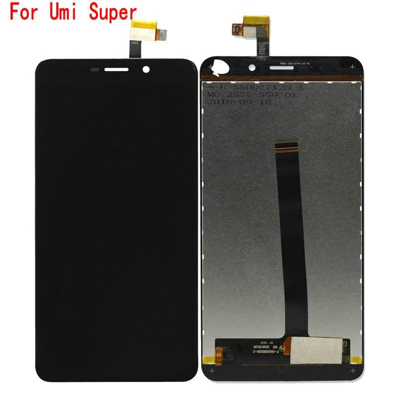 Qualidade Original Para Umi Super Display LCD Touch Screen Assembléia Peças de Telefone Para Umi Super Tela Lcd Ferramentas Gratuitas