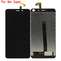 Original Quality For Umi Super LCD Display Touch Screen Assembly Phone Parts For Umi Super Screen