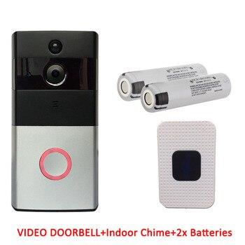 Alexa Google Full HD Wi-Fi Enabled Smart Video Tuya WiFi Ring Doorbell Remote Control Door Bell Wireless Tuya Smart Camera 1080P 9