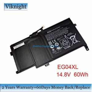 Батарея 14,8 V 60Wh EG04XL для ноутбука HP Envy Sleekbook 6 серии батарея для ноутбука EG04XL HSTNN-IB3T HSTNN-DB3T EG04XL TPN-C103 TPN-C108