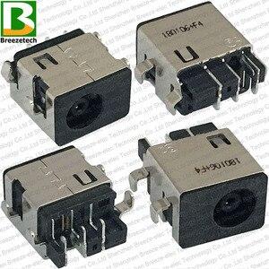 100% original novo portátil dc power jack porto de carregamento conector soquete para samsung np300e5m np300e5k np500r5l series