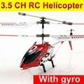 Frete grátis Estilo 3.5 ch rc helicóptero com giroscópio Liga S107g três-FSWB aviões de controle remoto canal