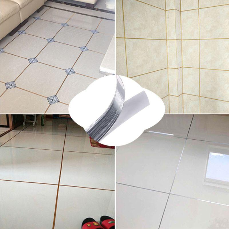 Waterproof Wall Gap Sealing Tape Floor Tile Copper Foil Adhesive Tape Strip Beauty Seam Sticker