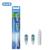 Oral B Cepillo de Dientes Cabezas Reemplazables para Cross Acción Compatible Limpieza Profunda 12 Cabezas de cepillo de Dientes Eléctrico Limpias Duales/6 Packs