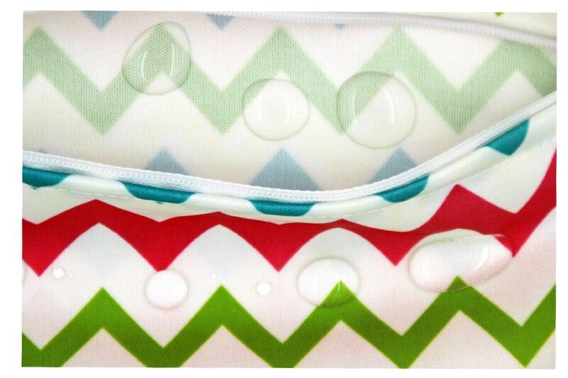 14 * 20 cm almohadillas de lactancia lavables bolsas mojadas bolsas - Pañales y entrenamiento para ir al baño - foto 4