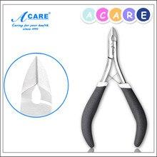1 ШТ. ACARE Черный Anti-slip Кусачки для Кутикулы Ногтей Кутикулы Ножницы Небольшой Размер Кутикулы Резак