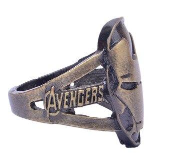 Кольцо с логотипом Железный человек Марвел 1