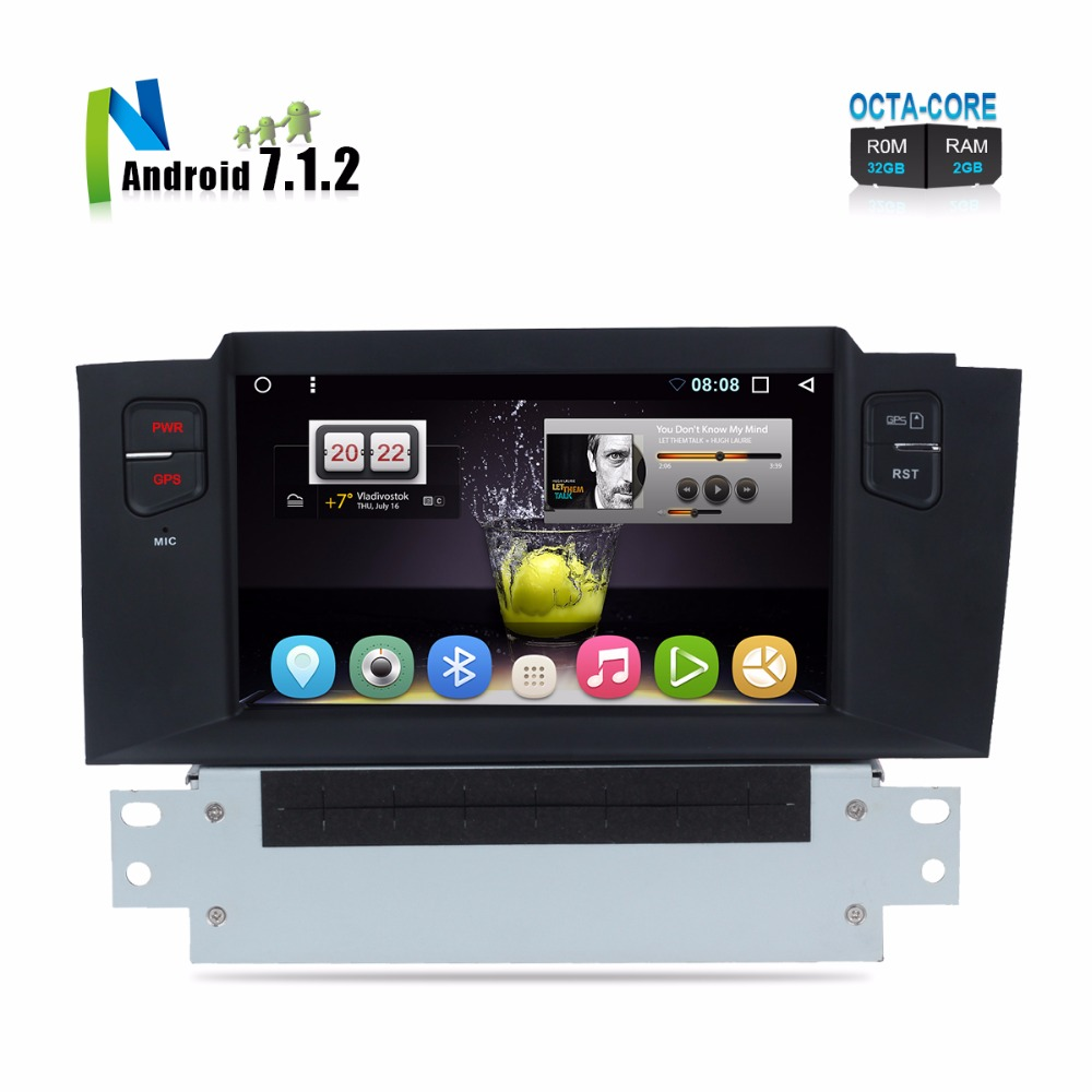 buy 7 android 7 1 car dvd for citroen c4 c4l ds4 2011 auto radio rds stereo. Black Bedroom Furniture Sets. Home Design Ideas