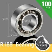 100pcs R188 Ceramic Bearing For LED Fidget ABS Plastic Fidget Tri Spinner Glow In Dark Tri