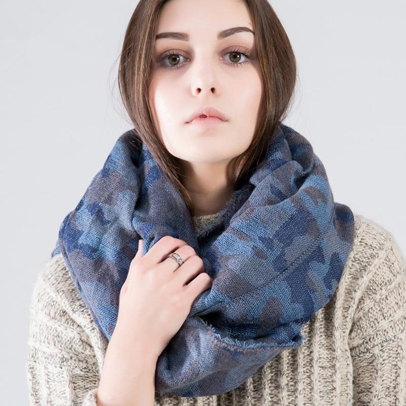 ZA Winter 2016 font b Tartan b font Scarf Desigual Camouflage Cuadros New Luxury Brand Unisex