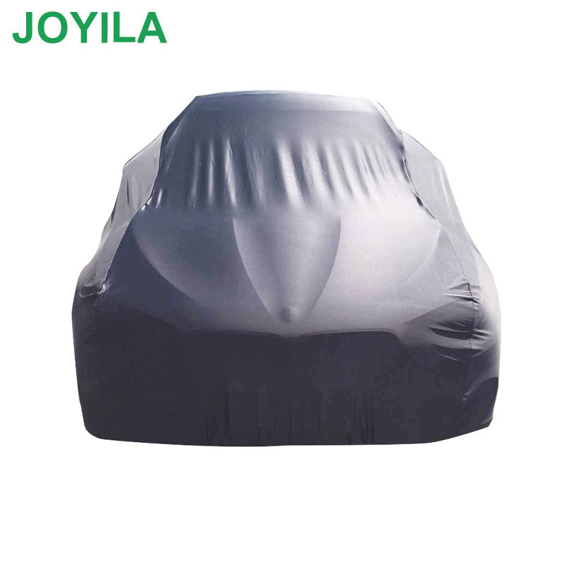 190T Polyester Waterproof Car Cover Rainproof Dustproof Sunscreen Snowproof High Quality All-Black Cover Car(China)