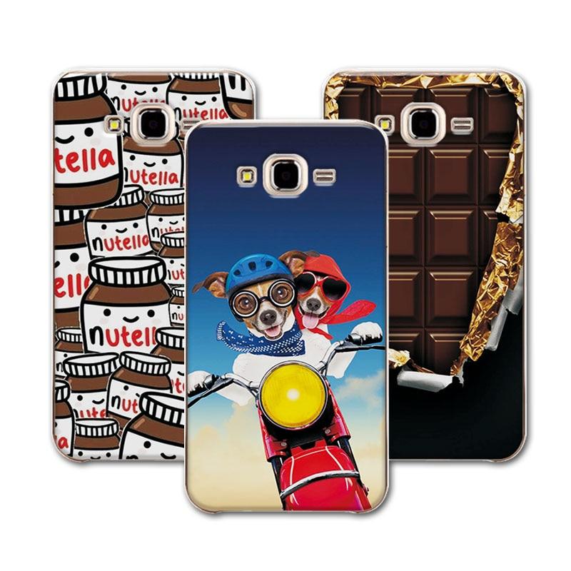 Galleria fotografica Mermaid Flamingo Style Phone Cases For Coque Samsung Galaxy J3 Case J320 J320F Case Cover Coque Fundas For Samsung J3 2016 5.0