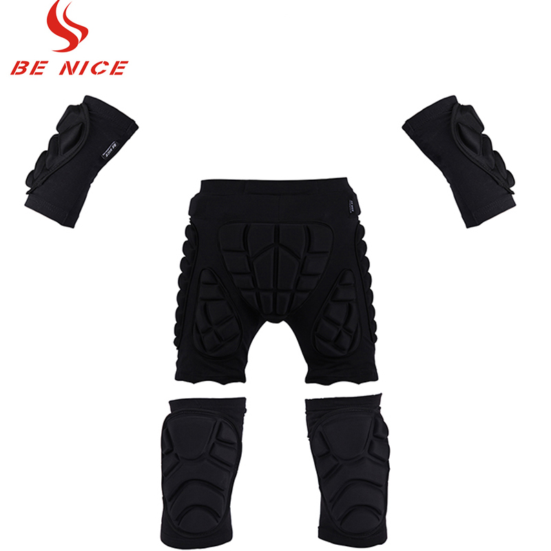 Butt Hip Drop Pads Pants Shorts Padded Knee Elbow Pads Brace Protectors Support Sports For Skiing Skating Snowboard Protection