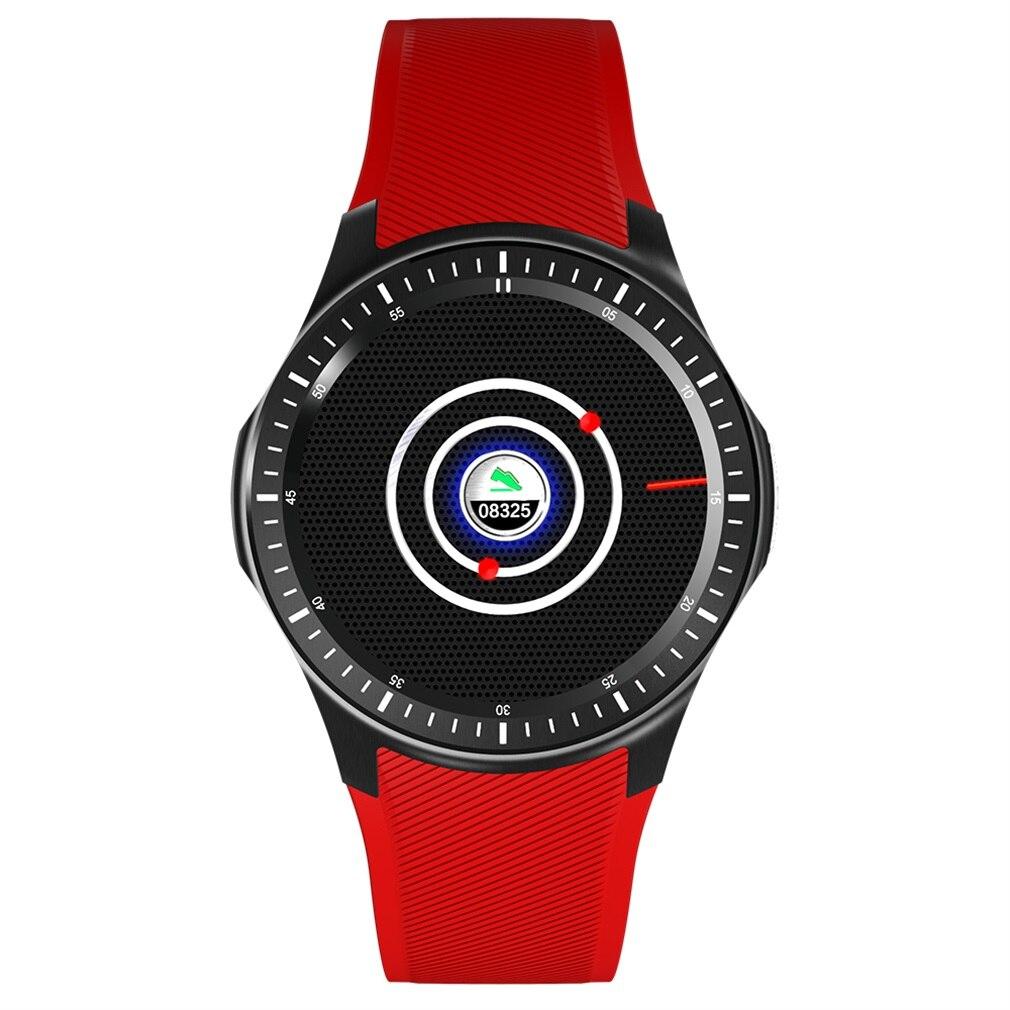 DM368 Quad Core 1.39 pouces écran affichage montre intelligente sans fil moniteur de fréquence cardiaque Bluetooth 4.0 3G téléphone bracelet offres spéciales