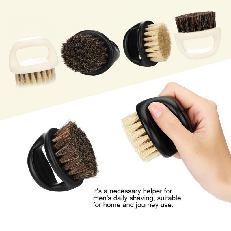 Image 4 - New Men's special Wild boar bristle beard brush Comb set Plastic beard comb beard care set Comb Beard tool brushes Hot Selling-in Combs from Beauty & Health