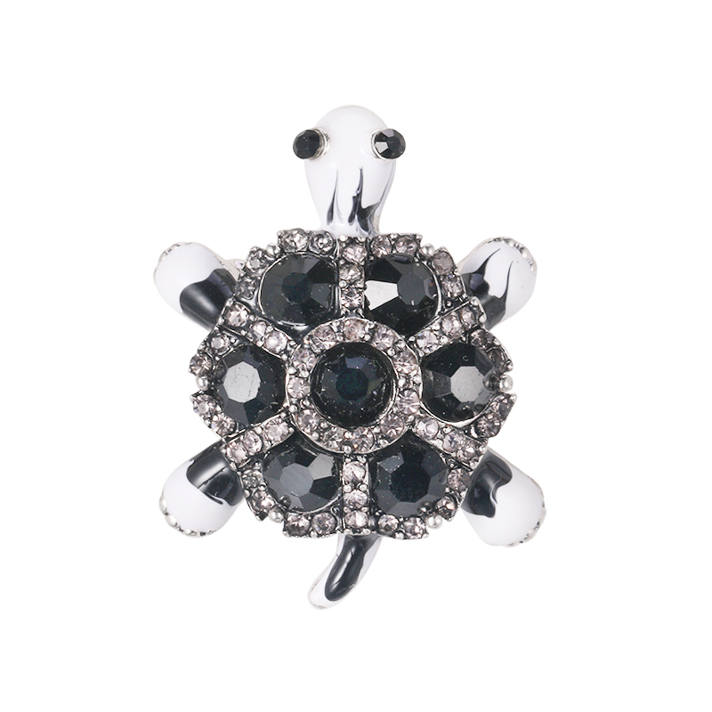 Modogirl Handmade Brooches Pins Beautiful Brown Stone Brooch Pin Crystal Flower Simulated Pearl Corsage