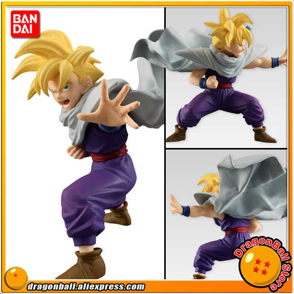"Japão Anime ""Dragon Ball Z"" Original BANDAI Tamashii Nations STYLING SHOKUGAN PVC Toy Figura-Son Gohan"