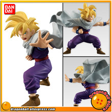 "Japão Anime ""Dragon Ball Z"" Original BANDAI Tamashii Nations STYLING SHOKUGAN PVC Toy Figura-Son Gohan(China)"