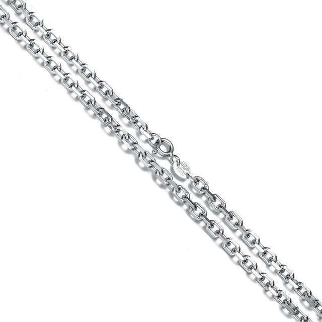 Aceworks o chains 925 sterling silver chain necklace for pendants aceworks o chains 925 sterling silver chain necklace for pendants charms s925 o chain 18 inch aloadofball Image collections