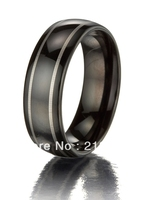 FREE SHIPPING USA WHOLESALES CHEAP PRICE BRAZIL RUSSIA CANADA UK HOT SALE 8MM DOME BLACK ENGRAVED NEW MENS TUNGSTEN WEDDING RING