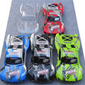 HuanQi HQ 727 PVC car shell /surface/ BODY/M0280 f/1/10 4X4 Traxxas Slash Red Blue Green Transparent