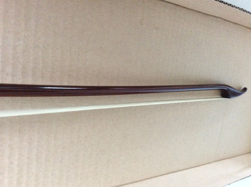 Super Snake wood Baroque Double Bass Bow 3/4 German model