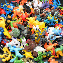 144PCS/LOT Mini Pikachu Toys Action Figures Animes Pocket Pets Dolls For Children
